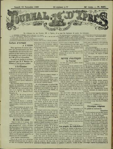 Journal d'Ypres (1874 - 1913) 1899-11-18