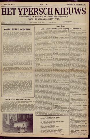 Het Ypersch nieuws (1929-1971) 1961-12-30