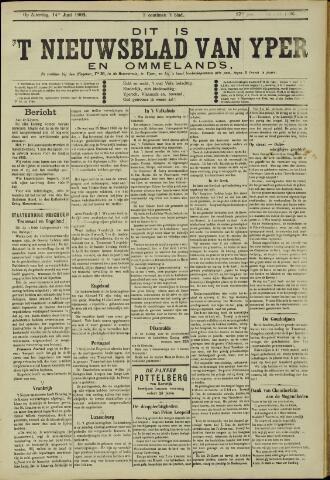 Nieuwsblad van Yperen en van het Arrondissement (1872 - 1912) 1902-06-14