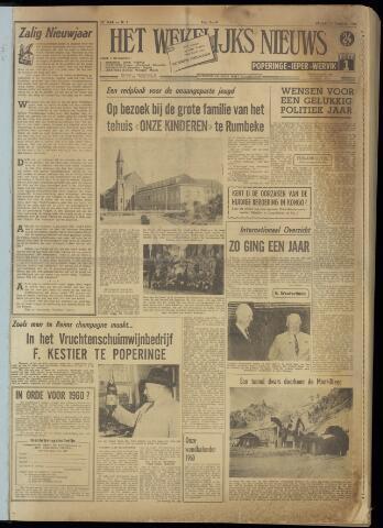 Het Wekelijks Nieuws (1946-1990) 1960