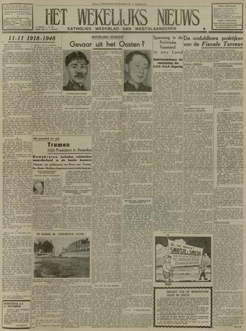 Het Wekelijks Nieuws (1946-1990) 1948-11-06