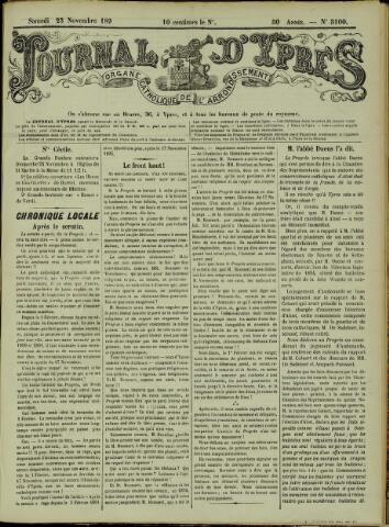 Journal d'Ypres (1874 - 1913) 1895-11-23