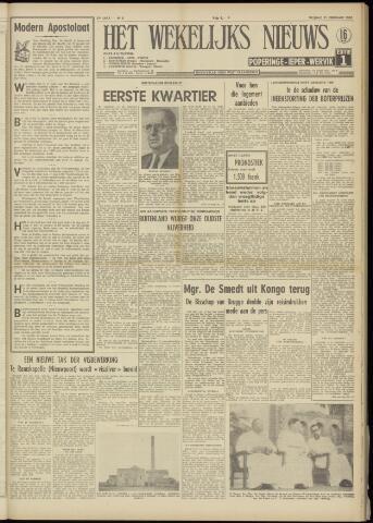 Het Wekelijks Nieuws (1946-1990) 1958-02-21
