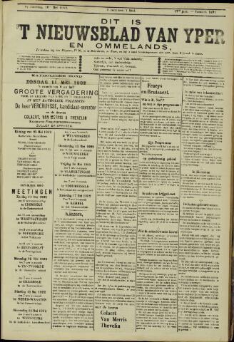Nieuwsblad van Yperen en van het Arrondissement (1872 - 1912) 1902-05-10