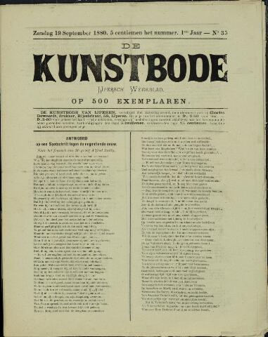 De Kunstbode (1880 - 1883) 1880-09-19
