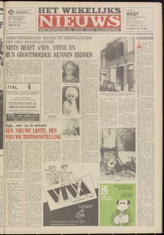 Het Wekelijks Nieuws (1946-1990) 1984-03-09