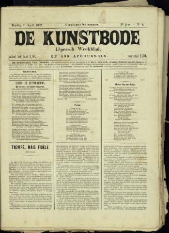 De Kunstbode (1880 - 1883) 1882-04-02