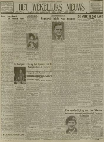 Het Wekelijks Nieuws (1946-1990) 1948-10-09