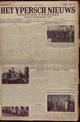 Het Ypersch nieuws (1929-1971) 1961-04-08