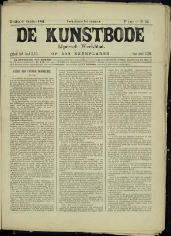 De Kunstbode (1880 - 1883) 1881-10-09