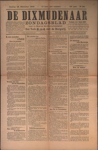 De Dixmudenaar 1906