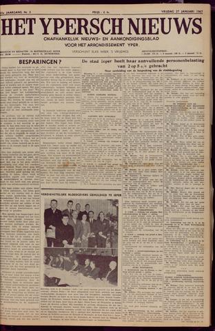 Het Ypersch nieuws (1929-1971) 1967-01-27