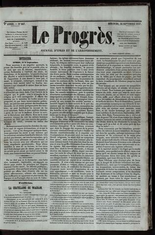 Le Progrès (1841-1914) 1847-09-26