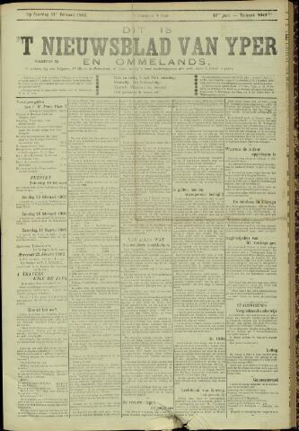 Nieuwsblad van Yperen en van het Arrondissement (1872 - 1912) 1905-02-11