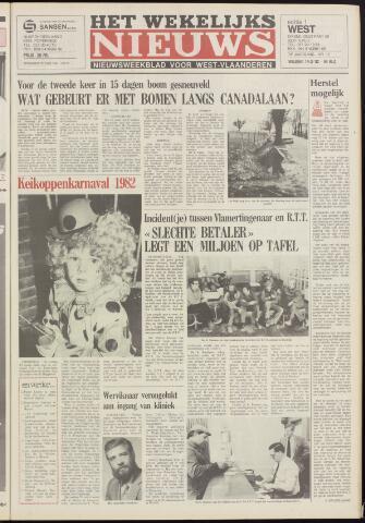Het Wekelijks Nieuws (1946-1990) 1982-03-19