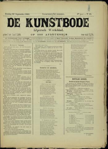De Kunstbode (1880 - 1883) 1882-09-10