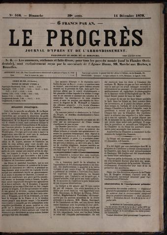 Le Progrès (1841-1914) 1879-12-14