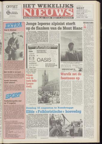 Het Wekelijks Nieuws (1946-1990) 1987-08-14