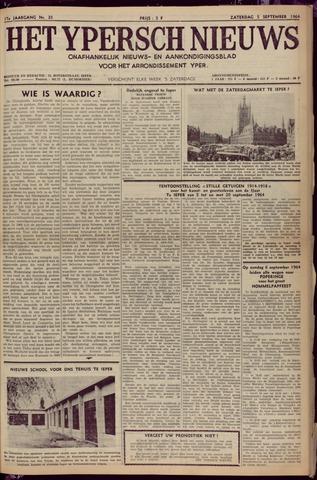 Het Ypersch nieuws (1929-1971) 1964-09-05