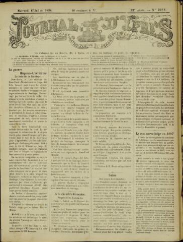 Journal d'Ypres (1874 - 1913) 1898-07-06