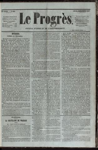 Le Progrès (1841-1914) 1847-12-09