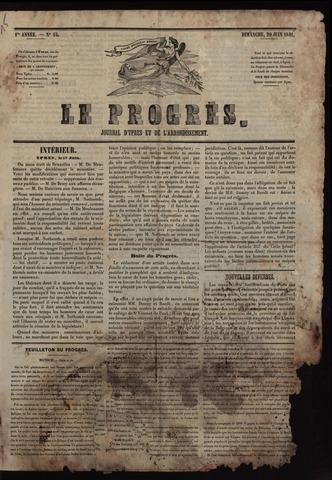 Le Progrès (1841-1914) 1841-06-20