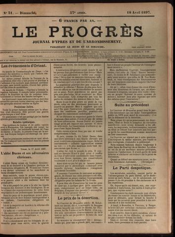 Le Progrès (1841-1914) 1897-04-18