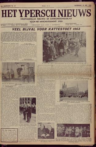 Het Ypersch nieuws (1929-1971) 1963-05-18