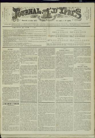 Journal d'Ypres (1874 - 1913) 1877-07-04