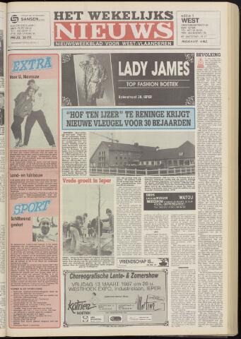 Het Wekelijks Nieuws (1946-1990) 1987-03-06