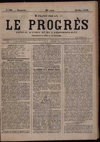 Le Progrès (1841-1914) 1879-03-16