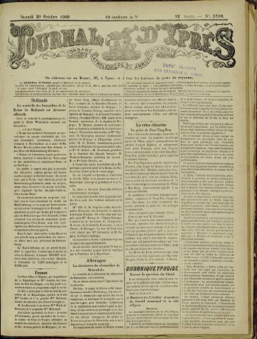 Journal d'Ypres (1874 - 1913) 1900-10-20