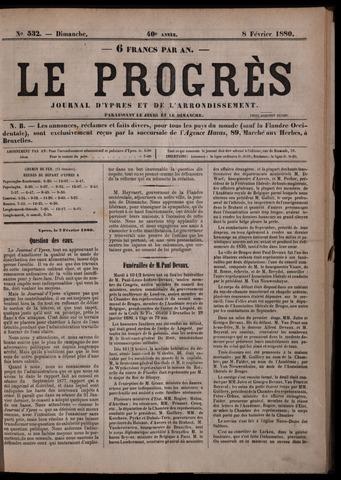 Le Progrès (1841-1914) 1880-02-08