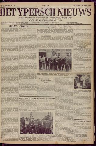 Het Ypersch nieuws (1929-1971) 1960-06-25