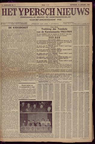 Het Ypersch nieuws (1929-1971) 1964-01-18