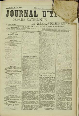 Journal d'Ypres (1874 - 1913) 1906-08-04
