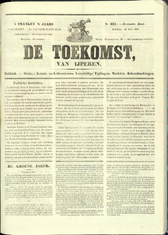 De Toekomst (1862 - 1894) 1868-07-26