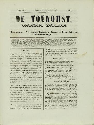 De Toekomst (1862 - 1894) 1867-02-17