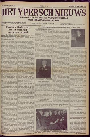 Het Ypersch nieuws (1929-1971) 1968-10-11