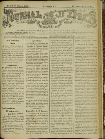 Journal d'Ypres (1874 - 1913) 1897-10-27