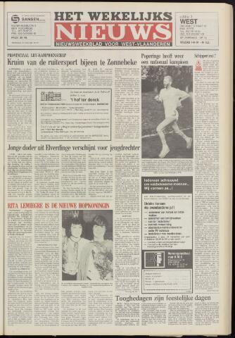 Het Wekelijks Nieuws (1946-1990) 1984-09-07