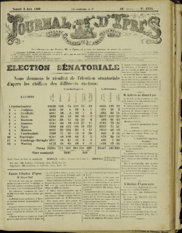 Journal d'Ypres (1874 - 1913) 1900-06-02