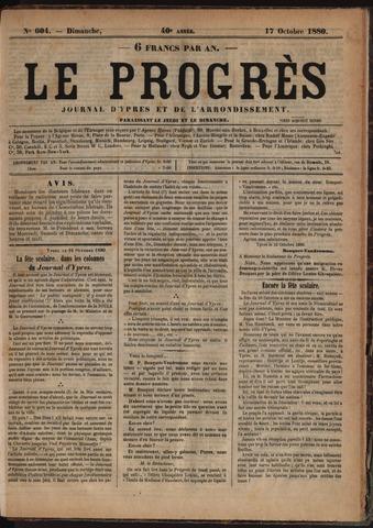 Le Progrès (1841-1914) 1880-10-17