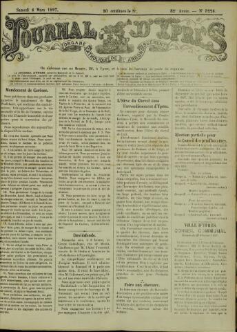 Journal d'Ypres (1874 - 1913) 1897-03-06
