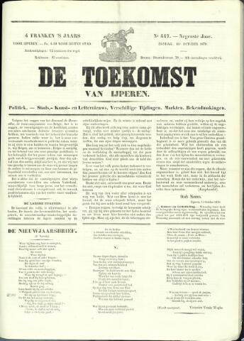 De Toekomst (1862 - 1894) 1870-10-16