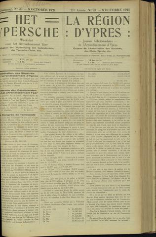 Het Ypersche (1925 - 1929) 1921-10-08