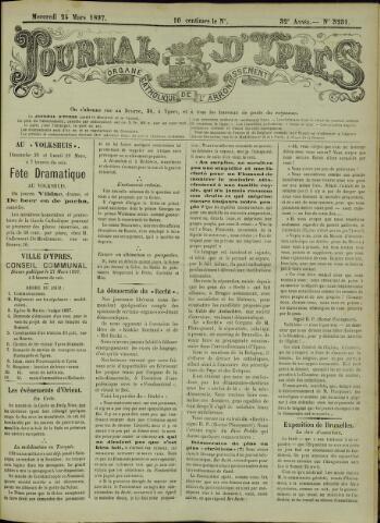 Journal d'Ypres (1874 - 1913) 1897-03-24