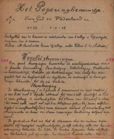 Het Poperinghenaartje (1915-1918) 1918-06-01