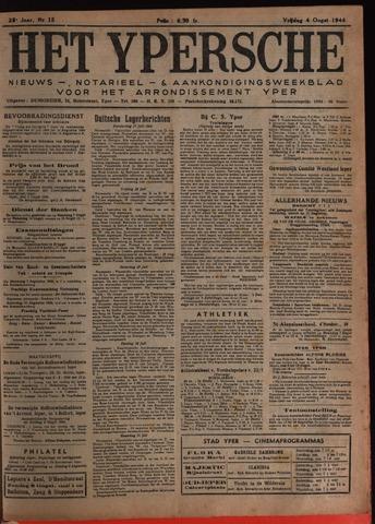 Het Ypersch nieuws (1929-1971) 1944-08-04