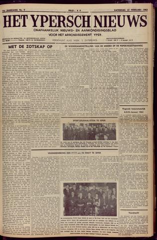 Het Ypersch nieuws (1929-1971) 1963-02-23
